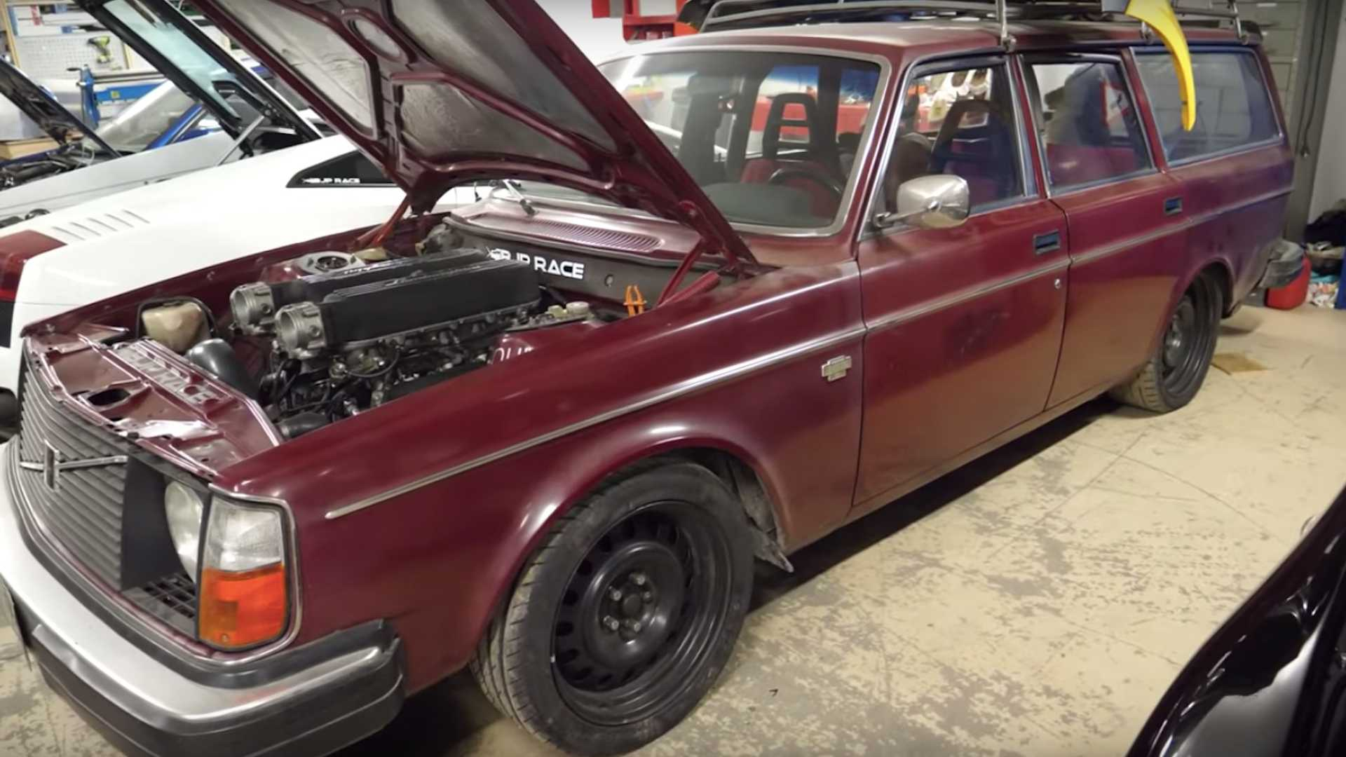 After 2JZ Swap, Volvo Owner Tries To Cram In Lamborghini V10