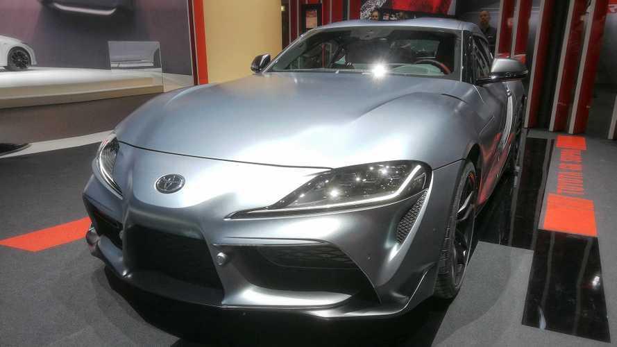 Toyota Supra Sitzprobe 2019