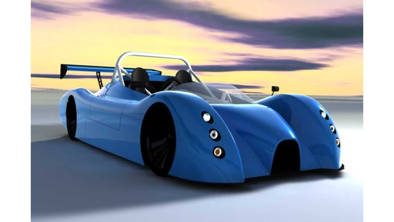 Bluebird Electric Racer to Make On Track Debut This September