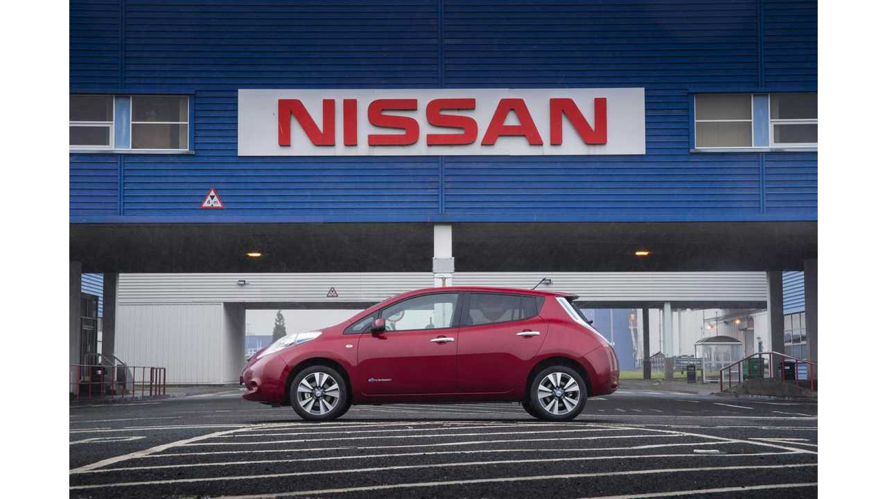 Nissan Positively Responds To UK's £500 Million Electric Vehicle Initiative