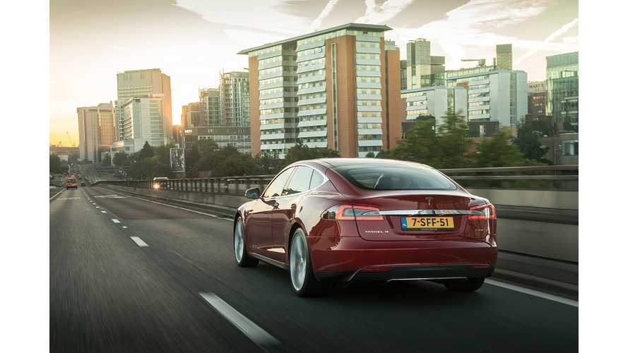 Tesla Model S Captures 24% Of Europe's EV Market In Q1 2014
