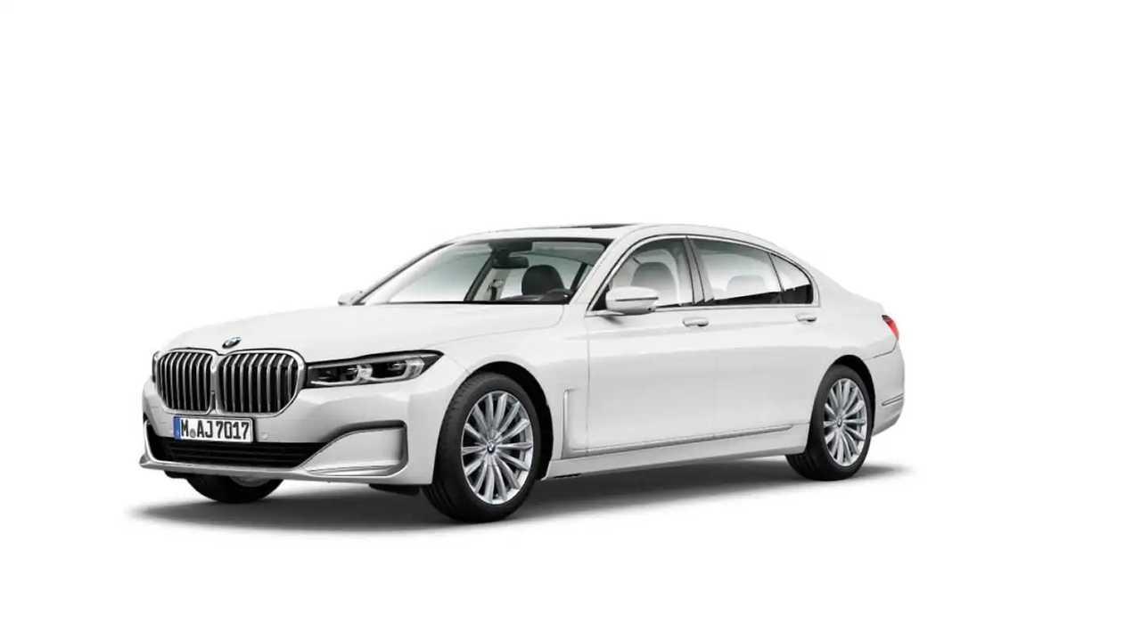 2020 BMW 7 Serisi'nin resmi görselleri sızdırıldı