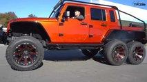 Jeep Wrangler 6x6 mit Hellcat-Motor