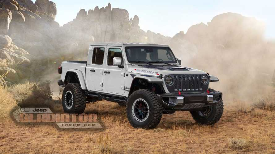Jeep Gladiator Hercules Renders Motor1 Com Photos