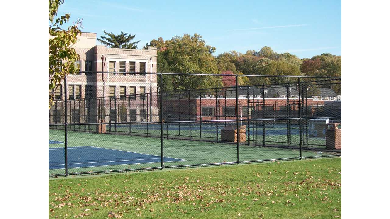 School Tennis Courts Are Not For Public Use