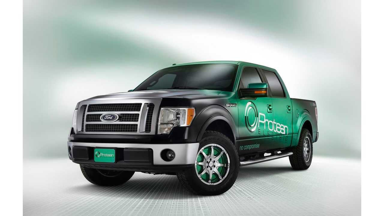 FORD F150 with Protean Electric motors