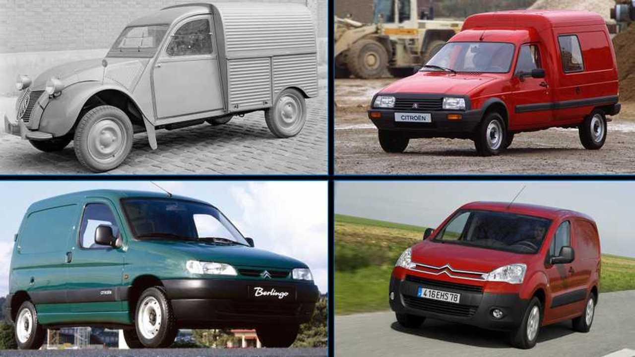 Antecesores Citroën Berlingo