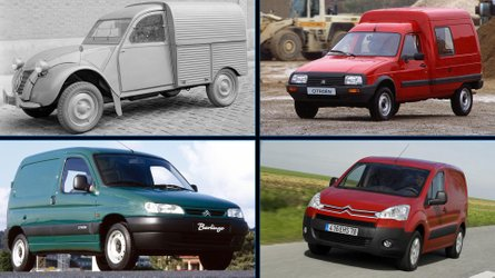 Citroën Berlingo Van 2019: estos son sus 6 predecesores