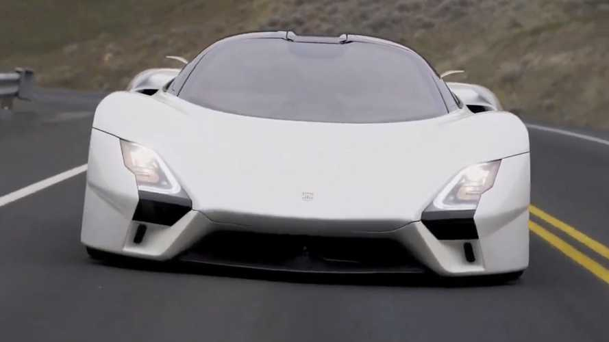 SSC Tuatara brings 1,750 bhp to the road in brief video