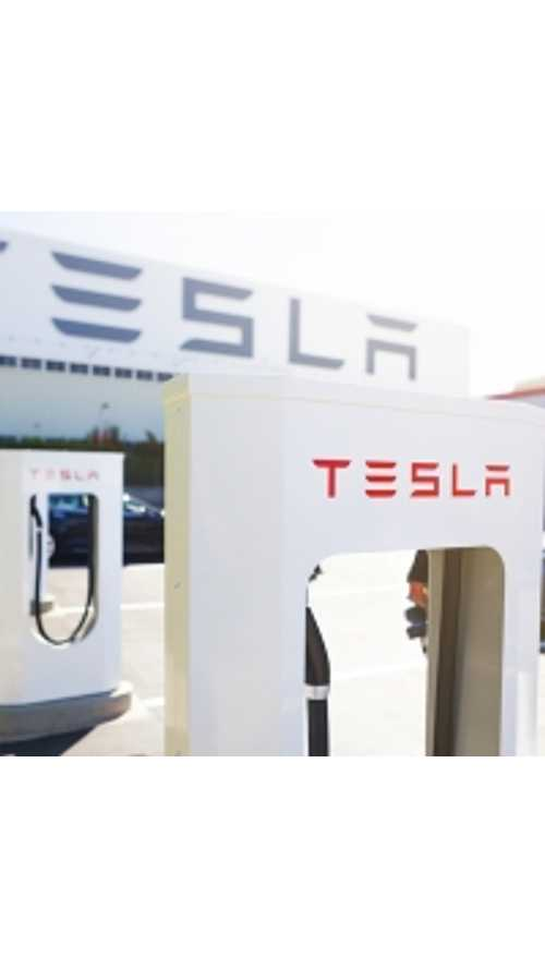 Tesla Fires Up Two More US Superchargers
