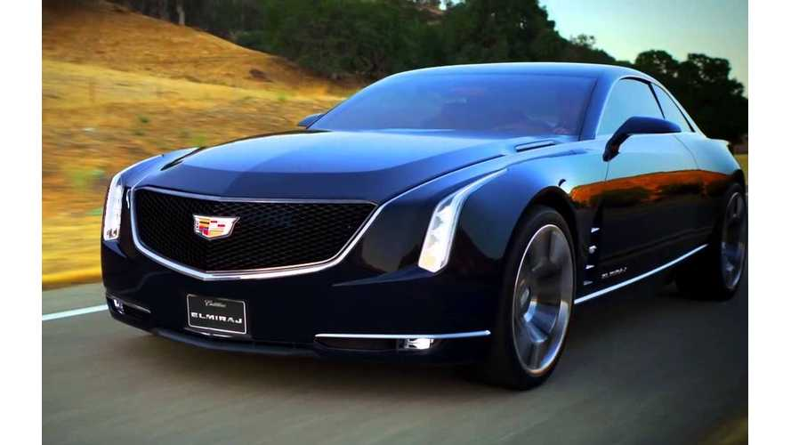 Range-Topping Cadillac LTS PHEV in the Works?