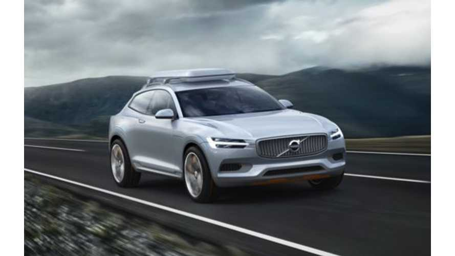 Volvo Concept XC Gets Revealed - Plug-In Version to be Sold Globally in Late 2014