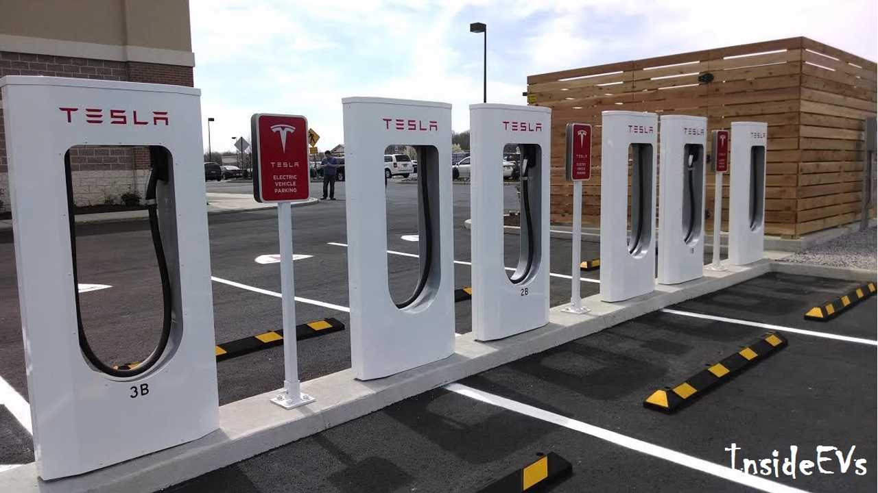 100 Tesla Superchargers - By The Numbers