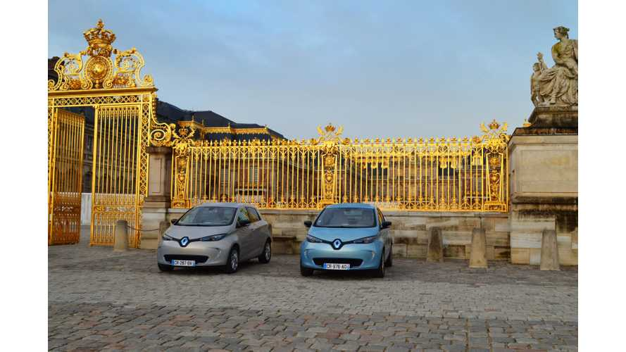 Royal Birthday For Renault ZOE - 10,000 Sold (w/video)
