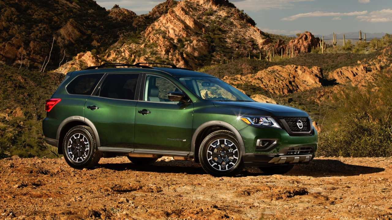 2019 nissan pathfinder rock creek edition live from the chicago auto show. Black Bedroom Furniture Sets. Home Design Ideas