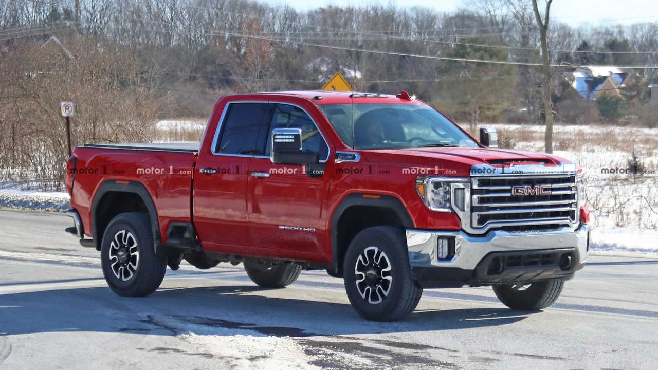 2020 GMC Sierra HD Double Cab Photos | Motor1.com Photos