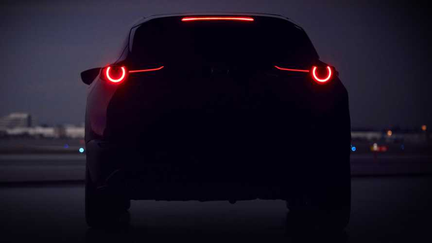 New Mazda compact crossover teased prior to Geneva reveal