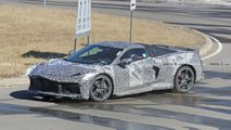Mid-Engined Corvette Spy Photo