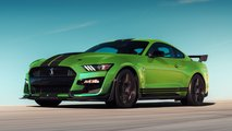 ford mustang shelby grabber lime