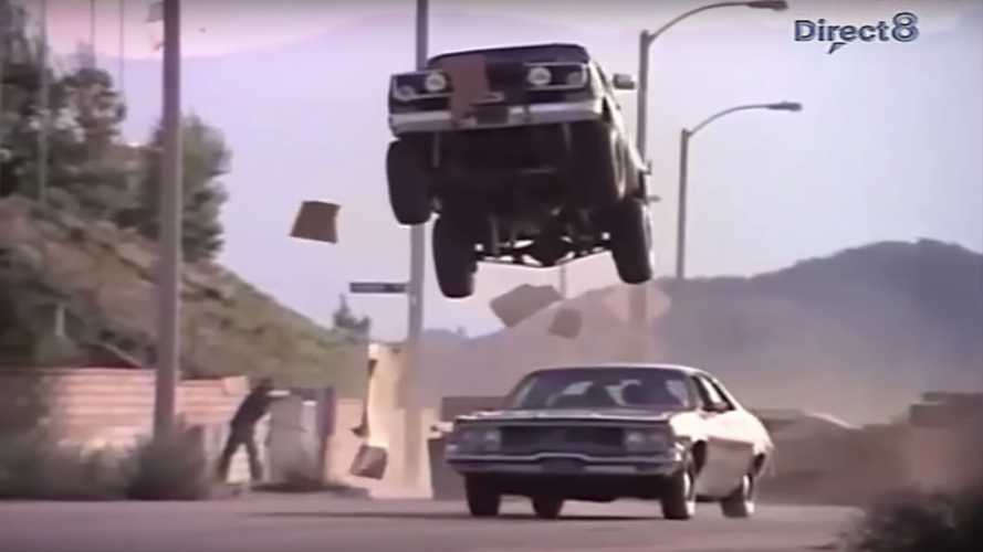 Watch Every Jump The Mid-Engine Fall Guy GMC Truck Ever Made
