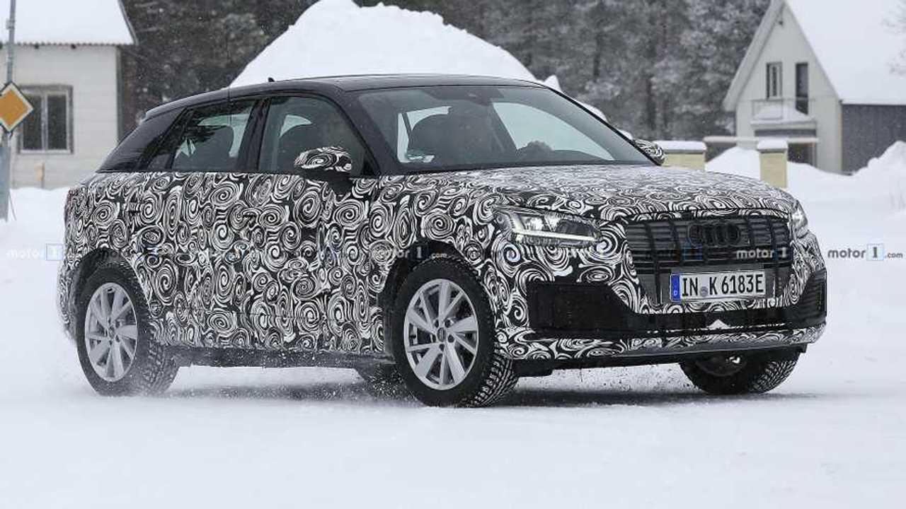 Audi Q2 L E-Tron Spionfotos