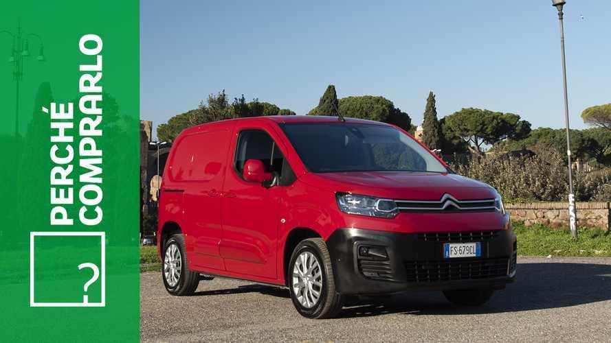 Citroen Berlingo Van, perché comprarlo... e perché no