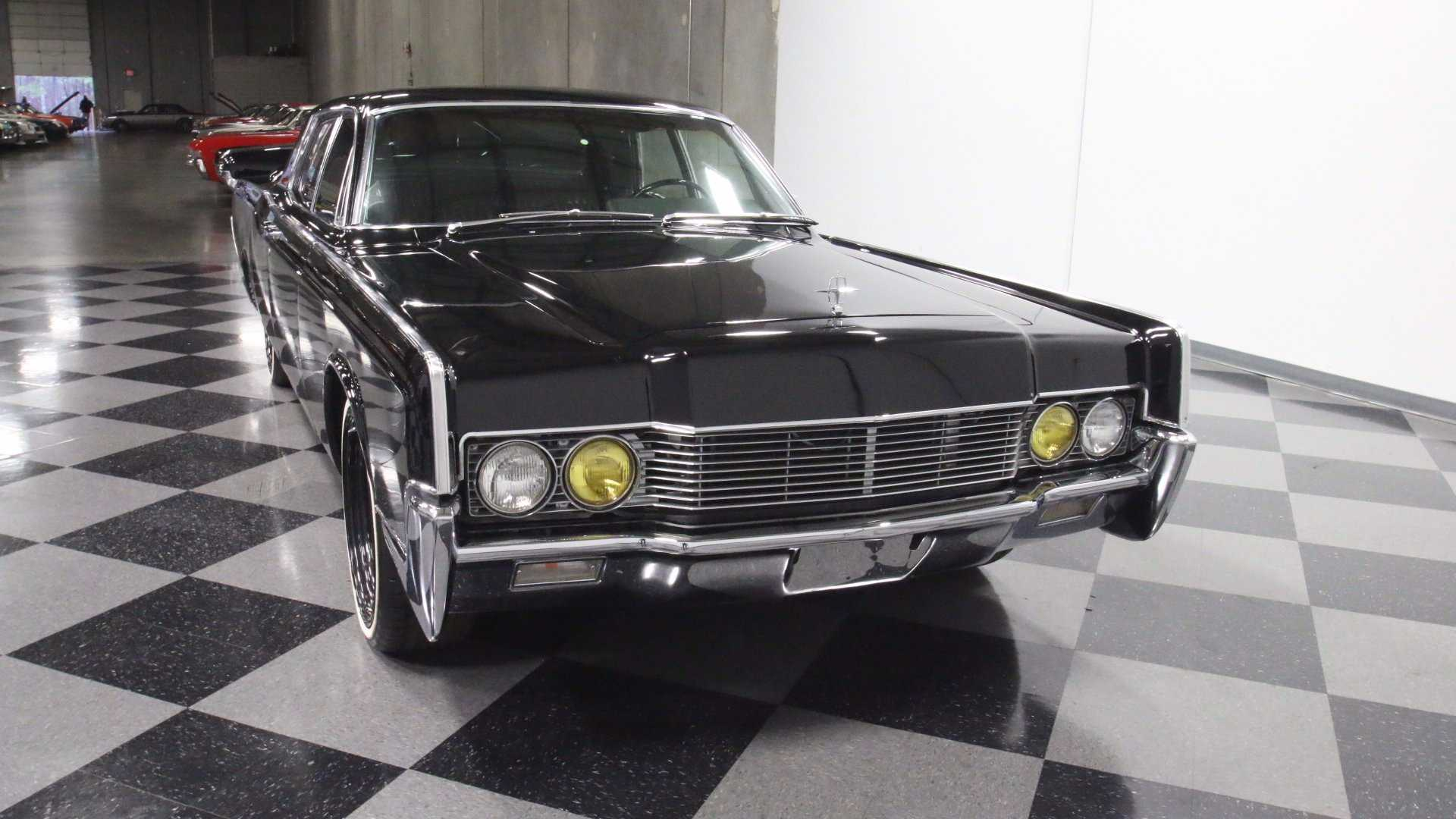 "[""1966 Lincoln Continental Restomod With LS2 Power""]"