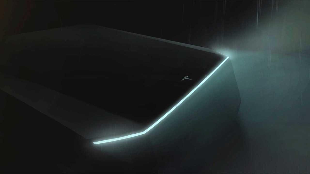 Teaser Tesla pick-up