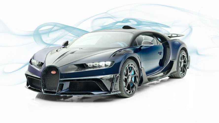 Mansory Centuria: el Bugatti Chiron que no querrías comprar