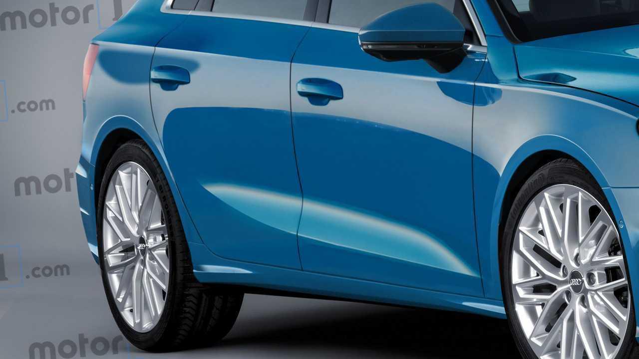 Rendu Audi A3 Sportback 2020