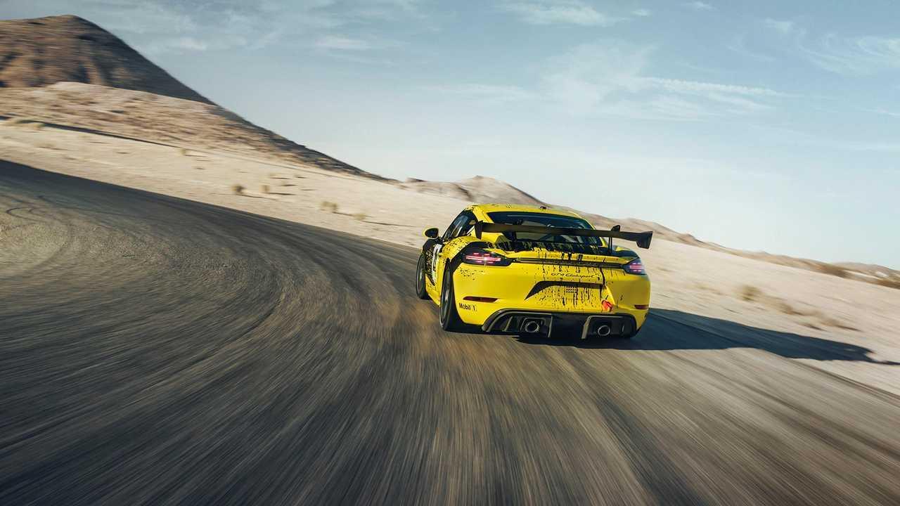 Nuova Porsche 718 Cayman GT4 Clubsport