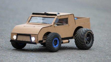 ¿Quieres fabricar tu propio coche de cartón? No te pierdas este vídeo