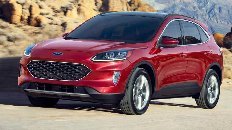 2020 Ford Escape Kuga Motor1 Com Photos