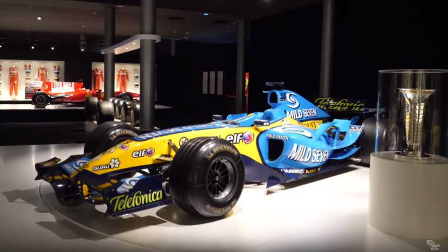 Check Out Fernando Alonso's Museum