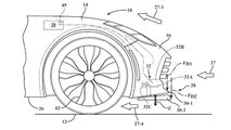 General Motors Active Aerodynamics Patent