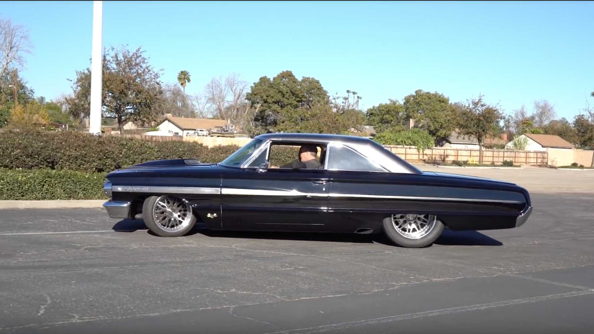 "[""Sinister 1964 Ford Galaxie Combines Old and New Performance to Make Over 1,000-HP""]"