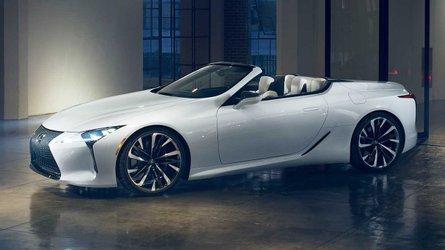 Salão de Detroit: Lexus LC conversível é antecipado em conceito