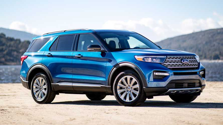 2020 Ford Explorer Hybrid revealed in Detroit, coming to UK