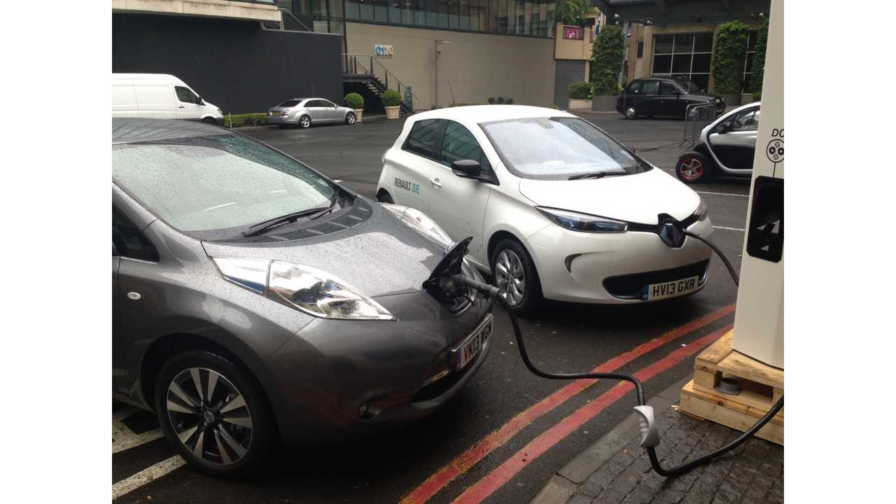 Nissan LEAF and Renault ZOE Lead EV Sales in Europe Through First 9 Months of 2013