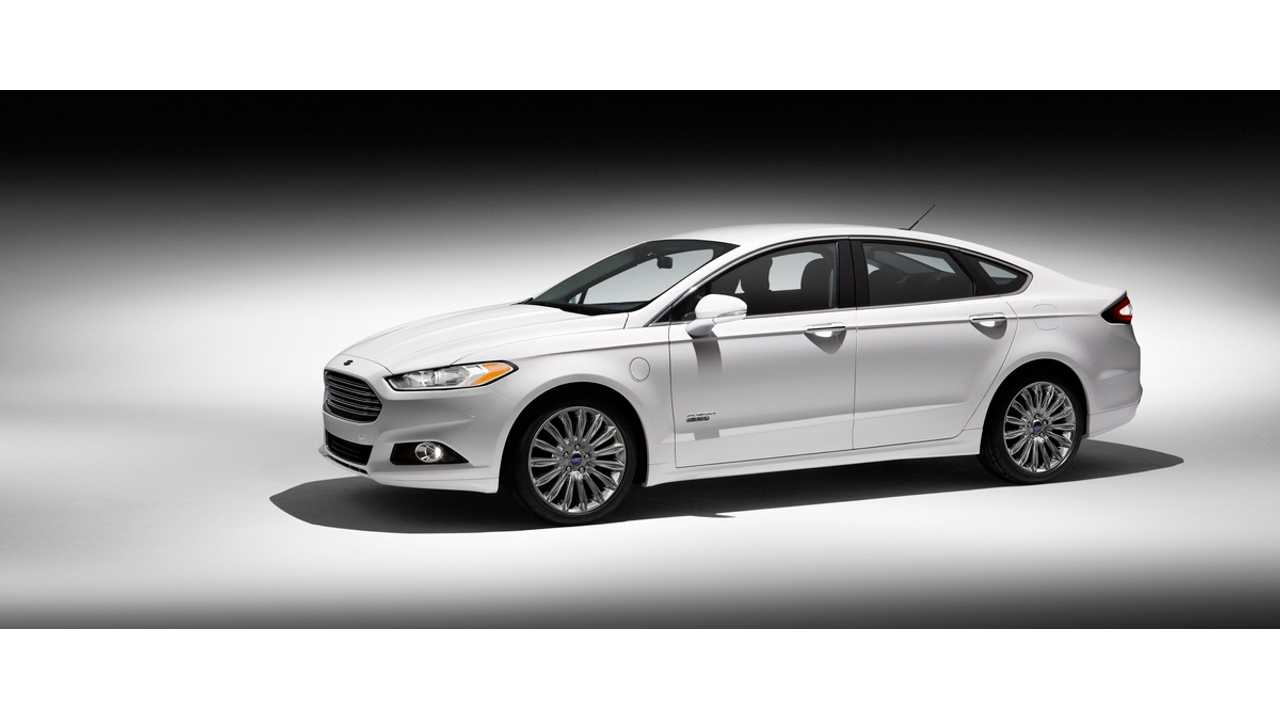 Ford Extended Range Plug-Ins Continue To Climb Higher In September (Fusion Energi From $38,700 Shown)