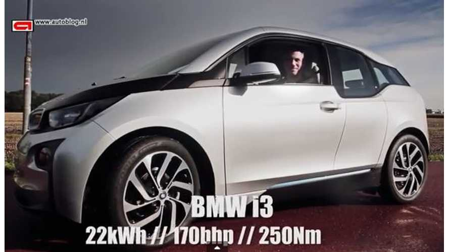 Video: BMW i3 Gets Its Go Pedal Pushed to the Floor