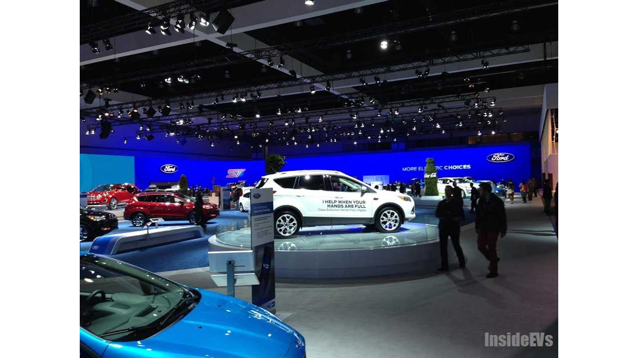 big ford booth LA auto show 2013 2 of 12 | InsideEVs Photos
