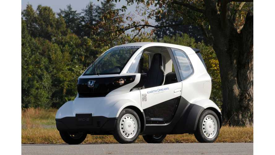 Honda Unveils Mico-Sized MC-β EV (w/video)