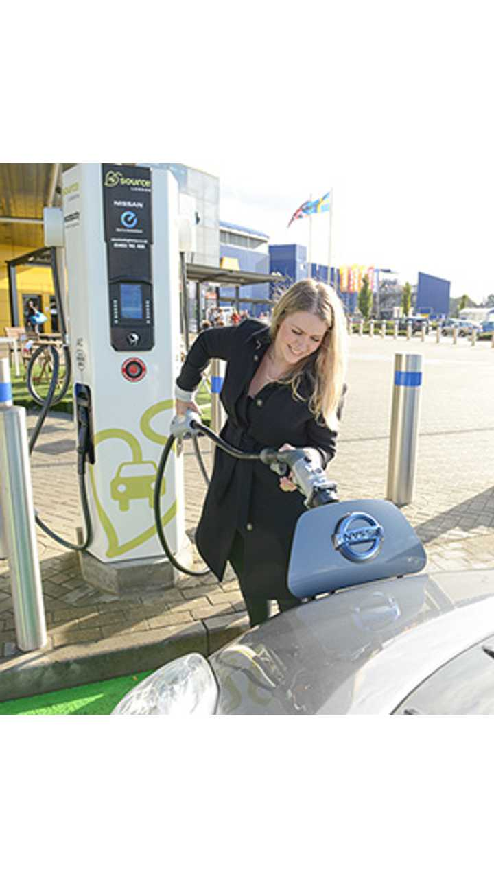 IKEA To Install Rapid Chargers Across All Its Outlets In The UK