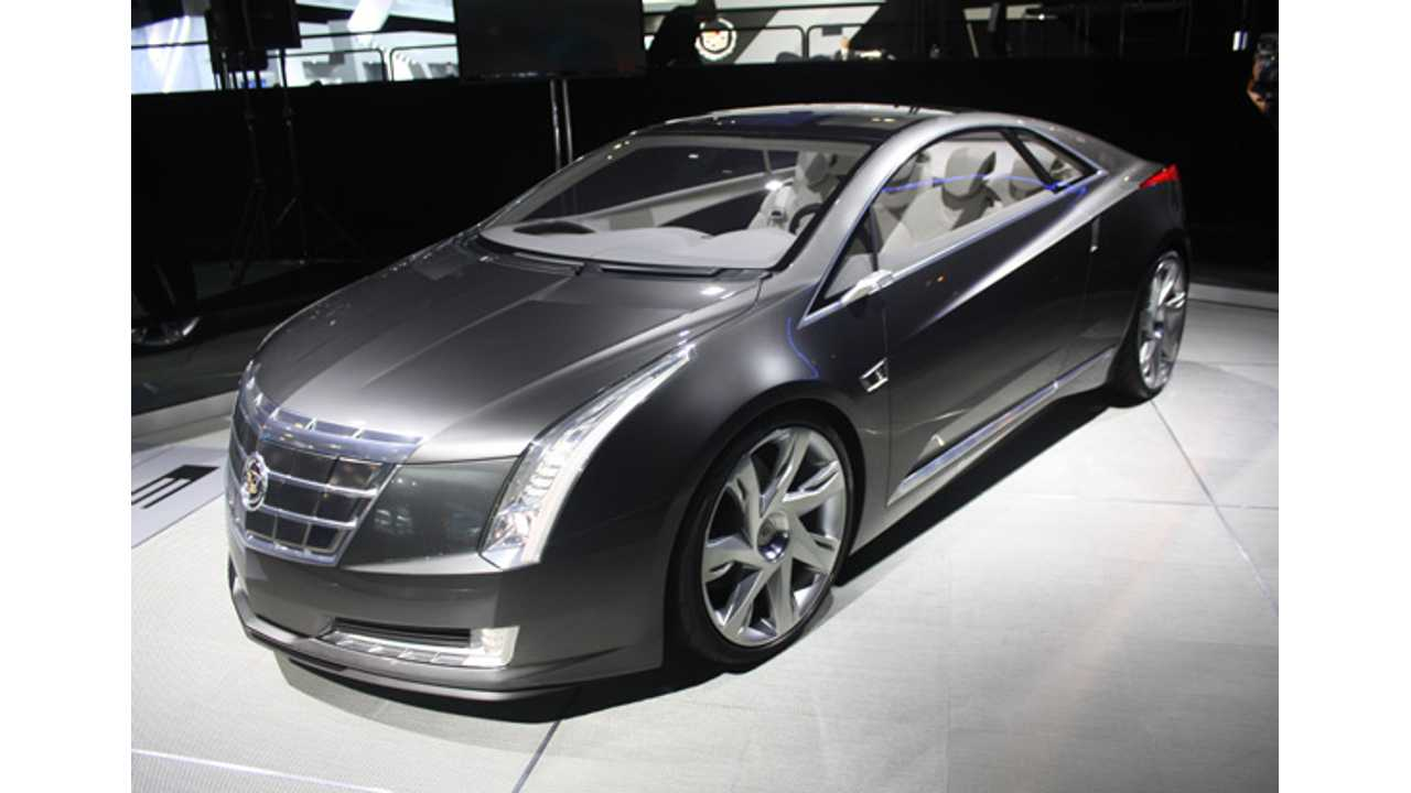 Concept ELR Takes a Spin Earlier This Year in Los Angeles