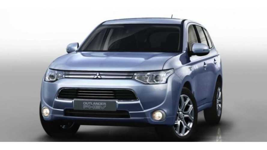 Mitsubishi Outlander Plug In Offically Debuts