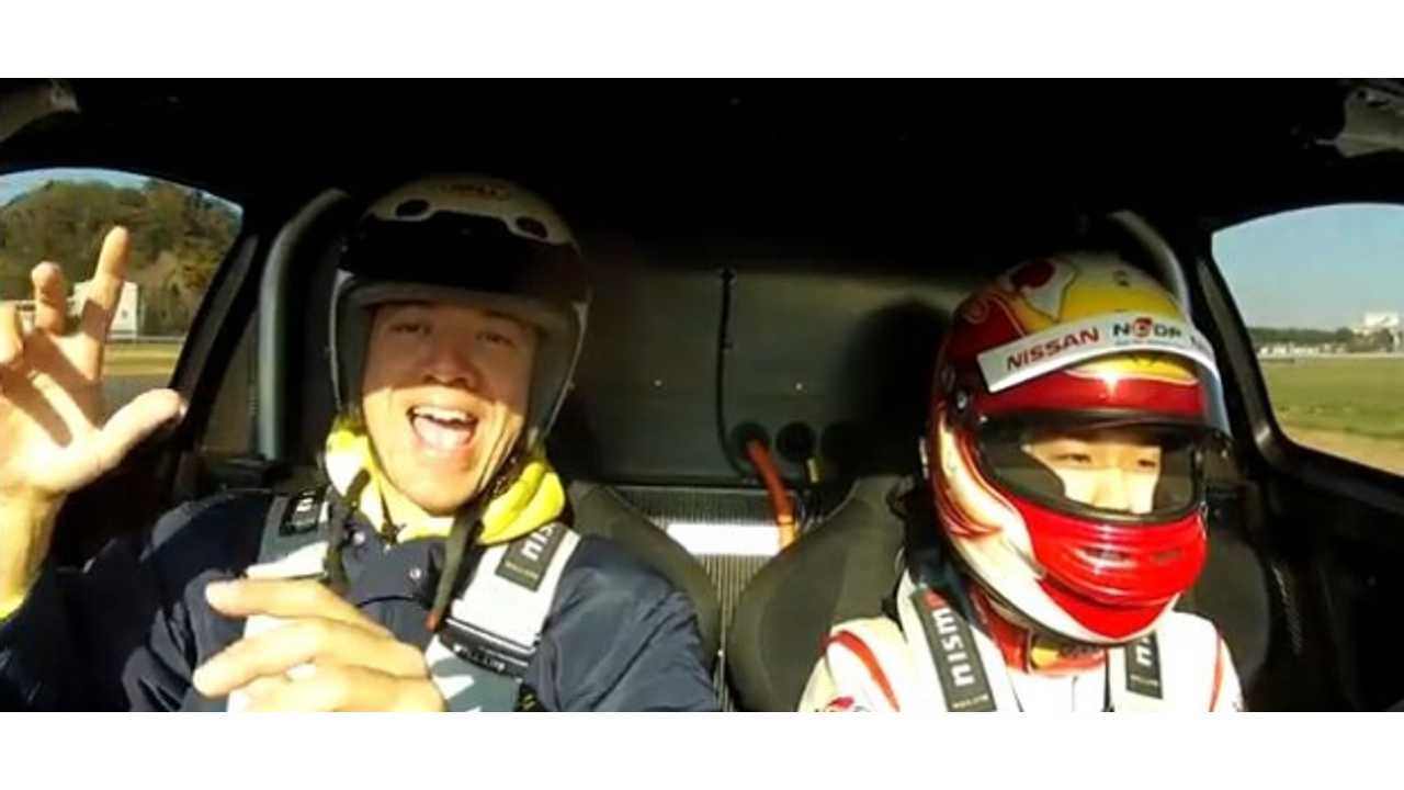 Video: Let's Lap the Track in a Nissan LEAF Nismo RC
