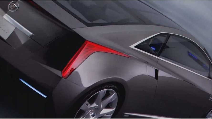 Production 2014 Cadillac ELR To Debut at Pebble Beach Concours d'Elegance.  Next Year.