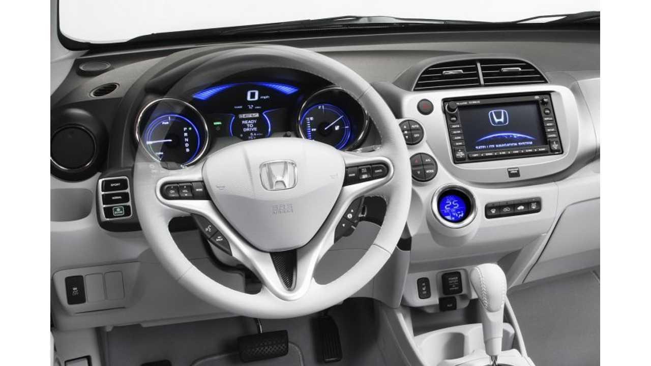Honda Fit Interior >> Honda Fit Interior Insideevs Photos