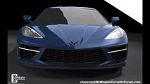 Mid Engine Corvette Render Front